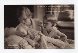 - CPA S.A.R. La Princesse Joséphine-Charlotte, Le Prince Baudouin, Le Prince Albert De Liège - Edition G. Cailliau 237 - - Familles Royales