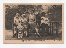 - CPSM LA FAMILLE ROYALE BELGE - Château Stuyvenberg - Photo R. Marchand - - Familles Royales