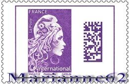 "France 2019 TP Marianne L'engagée "" Une Marianne Pour L'International "" - 1v Gommée - MHN Neuf - France"