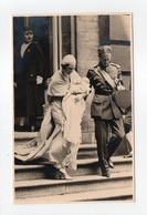 - CPA COUPLE ROYAL BELGE - Baptême Du Prince Albert De Liège 24.6.1934 - - Familles Royales
