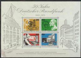 Berlín 1973. Ann Radio En Berlin M=Bl 4 Y=416-19  (**) - Blocks & Kleinbögen
