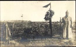 Cp Liège Lüttich Wallonien, Fort Loucin, Grab Eines Garde Dragoners, Deutscher Soldat, Liersch 75 - Belgium