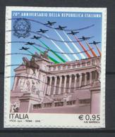 °°° ITALIA 2016 - 70° ANNIVERSARIO DELLA REPUBBLICA °°° - 2011-...: Usati