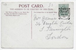 Squared Circle - Jersey On PC Of St. Helier - Postmark Collection