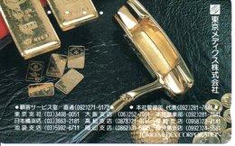 Télécarte Japon Lingot Bank Banque  Phonecard  (G 704) - Timbres & Monnaies