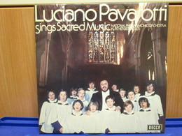 LP047 -LUCIANO PAVAROTTI - SING SACRED MUSIC - Oper & Operette