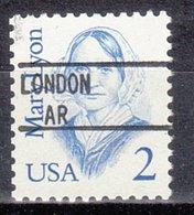 USA Precancel Vorausentwertung Preo, Locals Arkansas, London 895 - Precancels