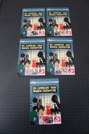 TINTIN - Hergé - Carte Postale + 5 Timbres Différents -Emission 3 - DUOSTAMPS  -  De Juwelen Van Castafiore - !!RARE!! - België
