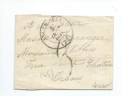 Lettre De Angerville Pour Orléans 1848 - 1801-1848: Precursori XIX