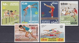 Bangladesch Bangladesh 1976 Sport Spiele Olympia Olympics Montreal Leichtathletik Athletics Fußball Soccer, Mi. 80-5 ** - Bangladesch