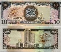 TRINIDAD & TOBAGO       10 Dollars       P-55      2006 (2014)     UNC [ Sign. Rambarran ] - Trinité & Tobago