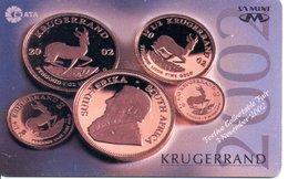 Jungle Monnaie Pièce Money Argent Télécarte South Africa Phonecard  (G707) - Afrique Du Sud
