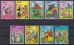 2445  -  Commonwealth DOMINICA - Disney Easter 1984 Pasen - Disney
