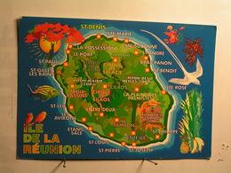 Ile De La Réunion - Carte - Autres