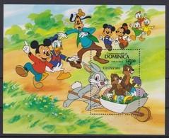 2446  -  Commonwealth DOMINICA - Disney Easter 1984 Pasen - Disney