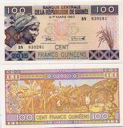 GUINEA      100 Francs      P-35[c]       2015      UNC - Guinée