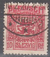 SCHLESWIG      SCOTT NO 4   USED     YEAR  1920 - Schleswig-Holstein