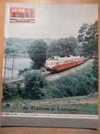 Vie Du Rail 934 1964 Les Mureaux Koujic Nieuil L'espoir Montmorillon Nieul Bellac Le Dorat Lathus Cognum - Trains