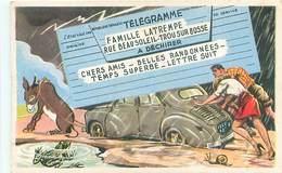 Illustrateur Carriere - Telegramme Voiture Ane Grenouille    R 445 - Carrière, Louis