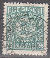 SCHLESWIG      SCOTT NO 10       USED     YEAR  1920 - Schleswig-Holstein
