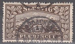 SCHLESWIG      SCOTT NO 11       USED     YEAR  1920 - Schleswig-Holstein
