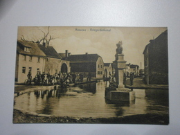 Allemagne. Kreuzau, Lot De 2 Cartes. Kriegerdenkmal, Teichstrasse (7639) - Allemagne