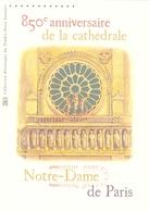 DOCUMENT PHILATELIQUE NOTRE DAME DE PARIS Bloc F4714 - Documents De La Poste