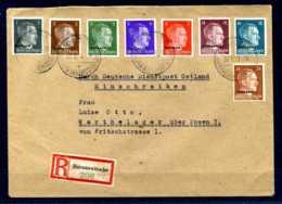 Z50078)Ostland Dienstpost-E-Brief - Occupation 1938-45