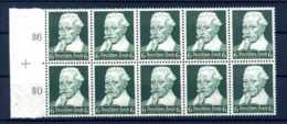 Z51069)DR 573, 10er-Block** - Deutschland