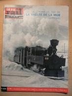 Vie Du Rail 932 1964 Saulieu Tunnel Tende Ateliers De Sidi Fath Allah Tamsweg Murtalbahn Mautendorf Dinan Dinard Murau - Trains