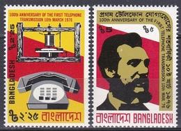 Bangladesch Bangladesh 1976 Technik Kommunikation Communication Telefon Phone Bell Erfindungen Inventions, Mi. 70-1 ** - Bangladesch