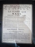 Faire-part Honneur Aux Anciens Classe 1949 - Documents