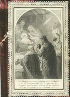 HOLY CARD - CANIVET - IMAGE PIEUSE RELIGIEUSE - DENTELLE - EDITEUR BOUASSE LEBEL MASSIN - 4033 - Images Religieuses