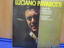 LP051 -LUCIANO PAVAROTTI - ARIAS BY VERDI AND DONIZETTI - Oper & Operette