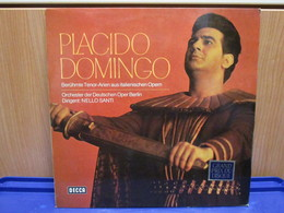 LP053 -PLACIDO DOMINGO - BERUHMTE TENOR-ARIEN AUS ITALIENISCHEN OPERN - Oper & Operette