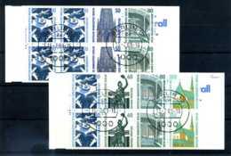 Z57149)Berlin MH 14 + 15 Je Gest. - Carnets