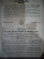 Faire-part Honneur Aux Anciens Classe 1955 - Documents