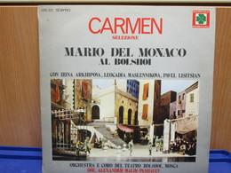 LP055 -CARMEN - SELEZIONE - MARIO DEL MONACO AL BOLSHOI - Opera