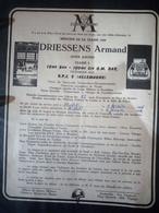 Faire-part Honneur Aux Anciens Classe 1960 - Documents