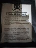 Faire-part Honneur Aux Anciens Classe 19 - Documents