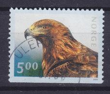 Norway 2000 Mi. 1346 Du   5.00 Kr Wildlebende Tiere Wild Animals Steinadler Eagle Adler - Norwegen