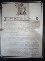 Faire-part Honneur Aux Anciens Classe 1959 Charleroi - Documents