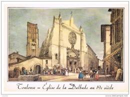 Toulouse : église De La Dalbade D'après Litho Du 19ème Siècle De Ph. Mercereau - Toulouse