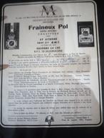 Faire-part Honneur Aux Anciens Classe 1963 - Documents