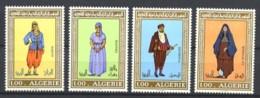 ALGERIE - 606 / 609 - Costumes - Complet 4 Valeurs - Neufs N** - TB - Algeria (1962-...)