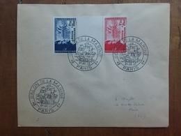 FRANCIA - Coppia Legione Tricolore Con Annullo Speciale + Spese Postali - Francia