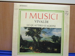 LP020 -I MUSICI - VIVALDI - LE QUATTRO STAGIONI - Classica