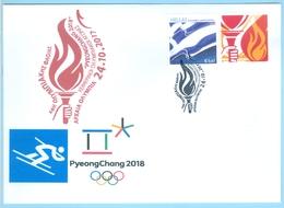 Greece Grèce Griechenland 2017, 2018 Winter Olympics Pyeongchang South Korea, Torch Relay, OLYMPIA Lighting Ceremony - Winter 2018: Pyeongchang