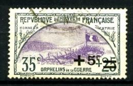 166 - +5c Sur 35c+25c Orphelins - Oblitéré - Très Beau - Oblitérés