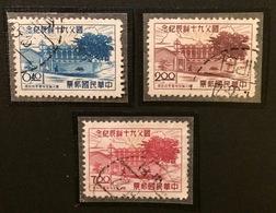 TAIWAN Formose 1955 YT N°199 à 201 - Gebraucht
